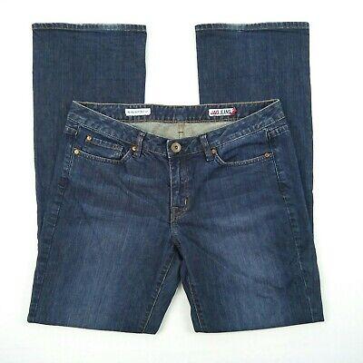 JAG JEANS Mid Rise Reg Fit Bootcut Blue Stretch Denim Jeans Women's Size 14 W34