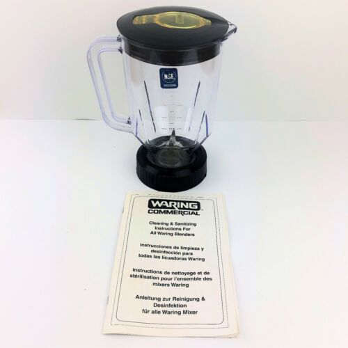 NEW Waring CAC29 48oz Replacement Blender Container Fits BB150 and BB160