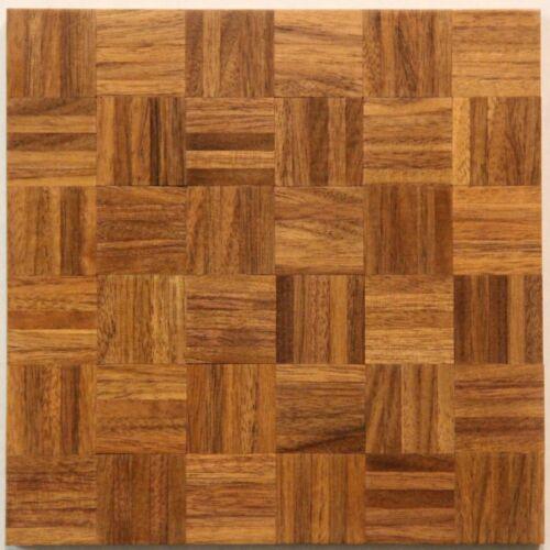 Dollhouse Miniature Walnut Wood Parquet Flooring The Real Floor You Need