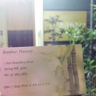 Bamboo Massage 1/500 boundary street Spring Hill Spring Hill Brisbane North East Preview