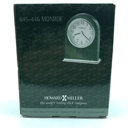 Howard Miller Monroe Table Clock 645-446 – Modern Wood with Quartz Movement 1.F1