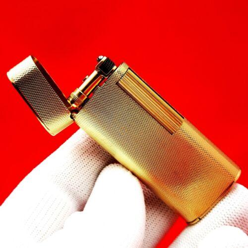 VAN CLEEF & ARPELS - DUNHILL - SOLID 18K / 750 GOLD - VINTAGE - GAS LIGHTER