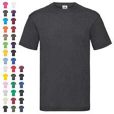 Fruit of the Loom T-Shirt Valueweight T Herren Rundhals Baumwolle Basic Shirt