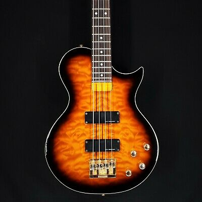 Burny by Fernandes Les Paul Bass Japan 90s MARCA: Burny by Fernandes