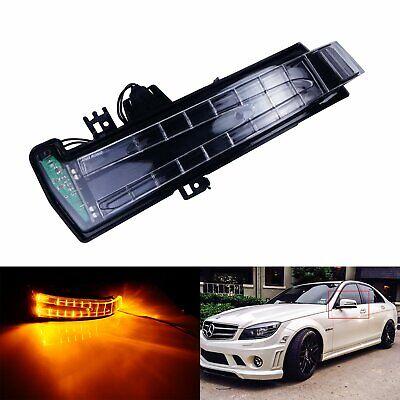 Links Außenspiegel Spiegel Blinker Amber für Mercedes Benz E-Klasse W212 A W176