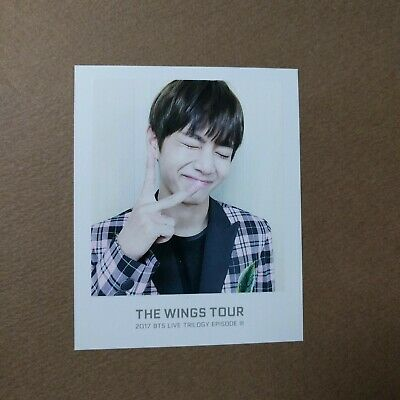 [Official] The Wings Tour Trilogy Ticket Polaroid Photocard [V TAEHYUNG]