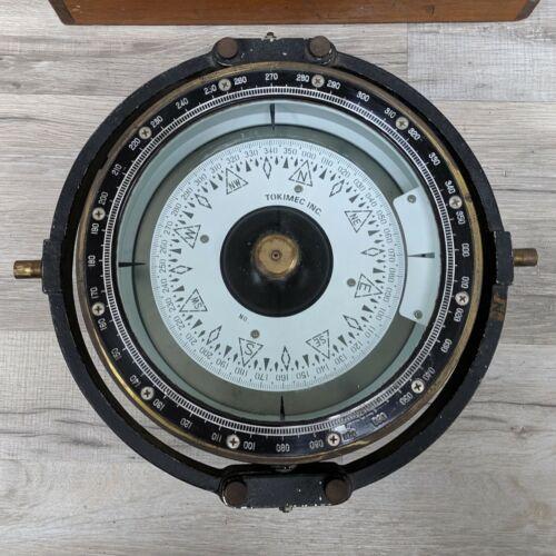 Antique Tokimec Magnetic Liquid Compass