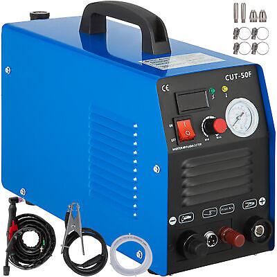 Plasma Cutter 50 Amp Inverter Non-touch Pilot Arc 110v230v Dual Voltage Digital