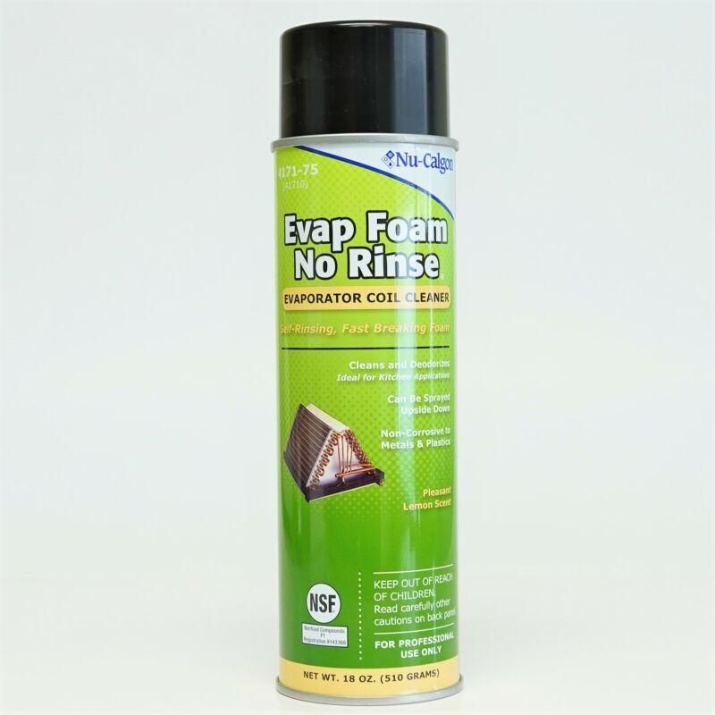 Nu-Calgon 4171-75 Evap Foam No Rinse Evaporator Coil Cleaner 18 OZ