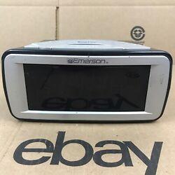 Emerson SmartSet CKS9031 Digital Dual Alarm Clock AM/FM RADIO, Blue Display 7.F1