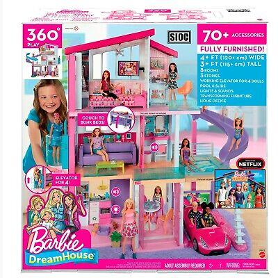 Mattel Barbie Dreamhouse Dollhouse New