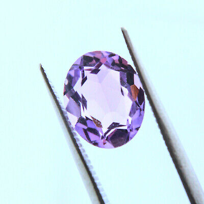 ~ NATURAL AMETHYST  8x10mm OVAL ~  USA SHIPPING  ~ FACETED LOOSE GEMSTONE