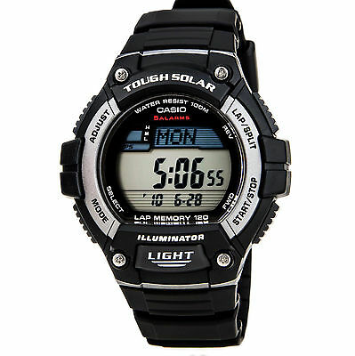CASIO Men's WS220-1A Tough Solar Powered Digital Sport Watch Brand New with Box