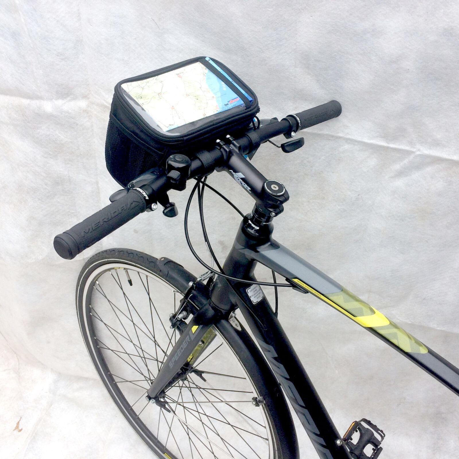 Fahrrad Lenkertasche Tasche mit Kartenfach Rahmentasche Handytasche wasserdicht