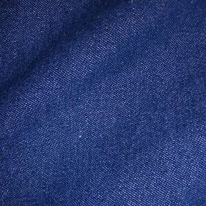 Medium-Blue-100-Cotton-8oz-Washed-Denim-Fabric-Per-Metre