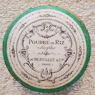 Vintage Poudre De Riz Paris Powder White