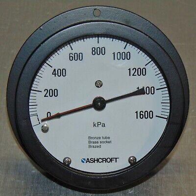 Ashcroft 1600 Kpa Duplex Pressure Guage