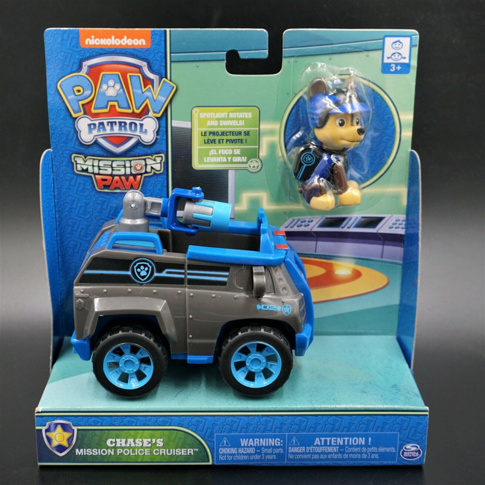 Paw Patrol: Mission Paw - Chase's Mission Police Cruiser