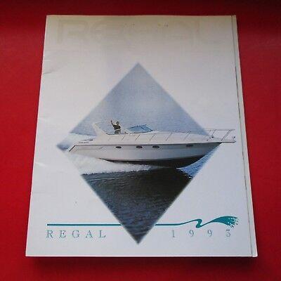 1993 REGAL BOATS SALES BROCHURE/CATALOG...ORLANDO.FLORIDA