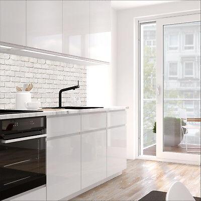 Jede Küche (Küchenrückwand - GEKALKTE WAND - 1.5mm Hart-Material, jeder Untergrund möglich)