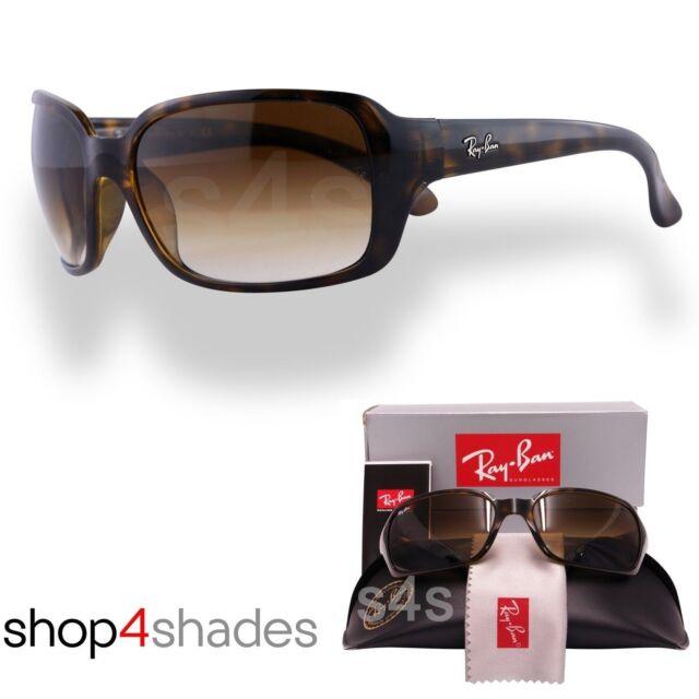 Ray Ban Women's Highstreet Oversize Sunglasses TORTE_GRADUATED BROWN 4068 710