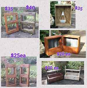 Timber planters for sale Glass House Mountains Caloundra Area Preview