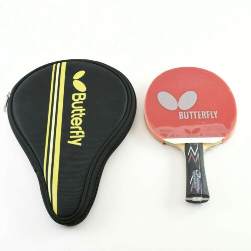 Butterfly BalsaCarbo X5-FL Proline w/Tenergy 80-FX Table Tennis Racket Paddle