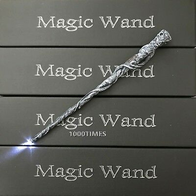 Harry Potter Mad Eye Moody Old Ghost Magic Wand w/  LED Light Up Cosplay - Magic Light Wand