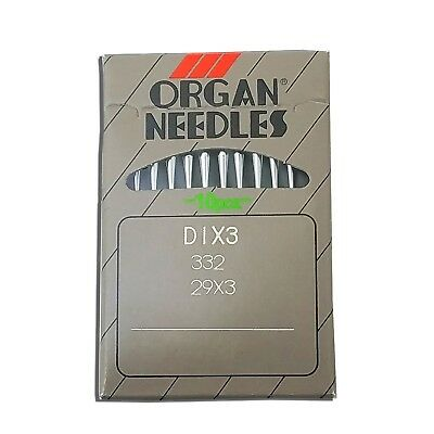 10 ORGAN 29X3, 332, DIX3  SIZE#24 SINGER 29K, 29-4, 29U, SHOE PATCHER  NEEDLES for sale  Shipping to Canada