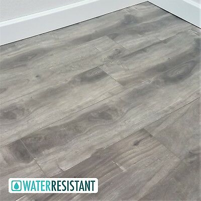 500 Square Feet of Warm Grey Spalted Maple Laminate Flooring - Ballard 12mm Square Laminate Flooring