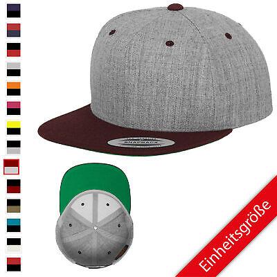 2-tone Baseball Cap (Flexfit Classic Snapback 2-Tone Baseball Cap verschiedene Farben)