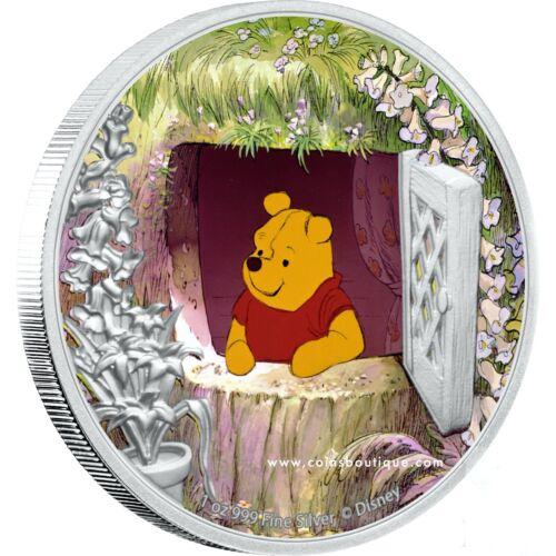 Winnie the Pooh-DISNEY 1oz Proof Silver Coin Niue 2020
