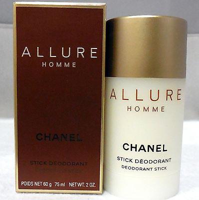 CHANEL ALLURE HOMME DEODORANT STICK 75 ML/2 OZ. - Allure Deodorant Stick