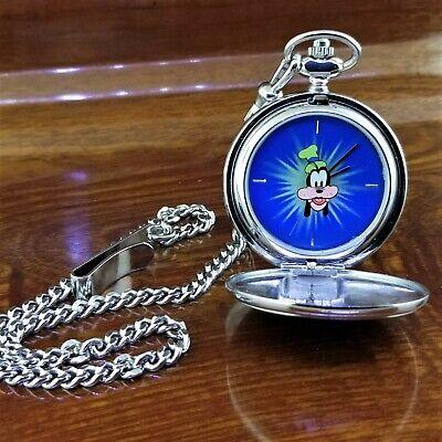 New Vintage 1997 DISNEY CATALOG Goofy 65th Birthday Pocket Watch #918 of 1932