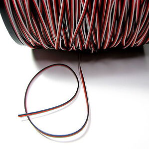 RC SERVO WIRE FUTABA COLOURS 22AWG by the Metre