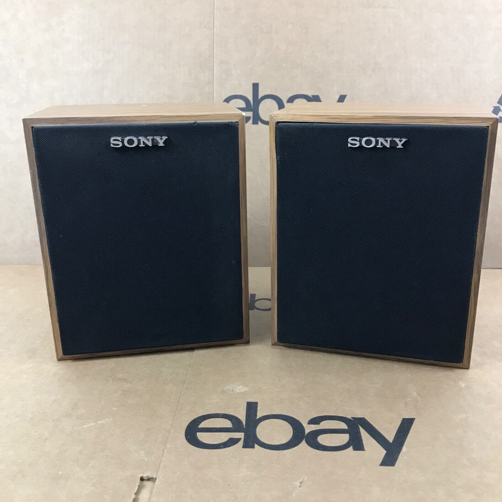 Sony SS-U21 40W 8 OHMS Stereo Pair Bookshelf Speakers 8.F7
