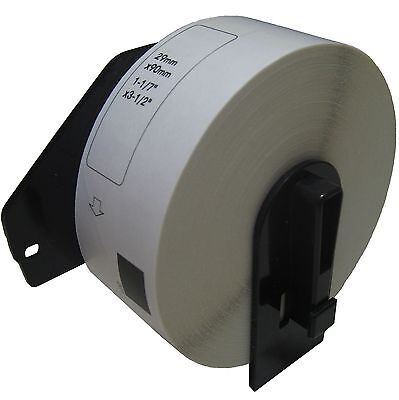 1 Roll Dk-1201 Brother Compatible Labels. Includes Black Plastic Core
