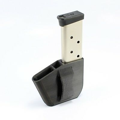 """MAGAZINE POUCH FOR RUGER SECURITY 9MM For Belts Up To 1.5/"""" LH SHOOTER"""