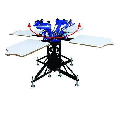 4 Color Screen Printing Machine Silk Screen Printer Shirt Press No Brackets