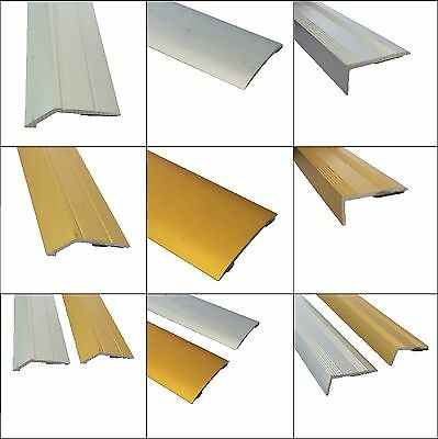 Self Adhesive Carpet Metal Cover Strips Door Bar