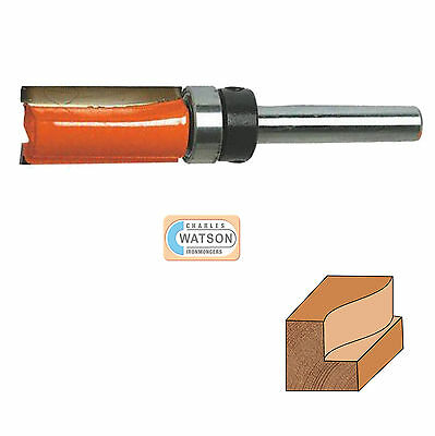 "12"" Inch Shank Template Cutter Router Bit Tct 34 X 1 14 X 34 Twin Fluted"