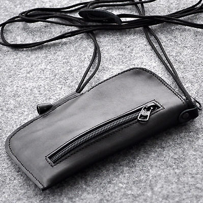 Motorola Leather Pda Case - Motorola case cover wallet purse black leather organizer mini bag with zipper