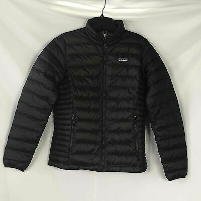 Patagonia Puffer Black Coat - Size S