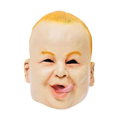 Gemeinkosten Gummi Baby Fat Gesichtsmaske Leben wie Weinendes Gruseliges Kostüm