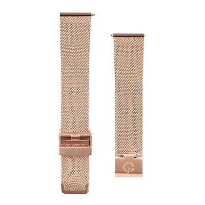 Eldon - Uhrenarmband Rose Gold Mesh - 20mm