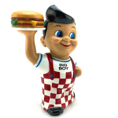 Funko Bobs Big Boy Bank Figure with Double Burger | An Early Funko Piece | 1999