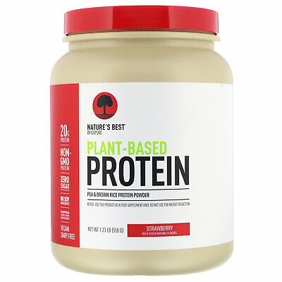 Nature's Best,  Plant-Based Protein, Strawberry, 1.23 lb (558