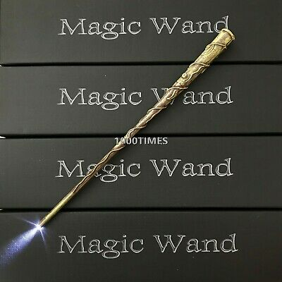 Harry potter Hermione Granger Magic Wand w/ LED light-up Illuminating Wand HP