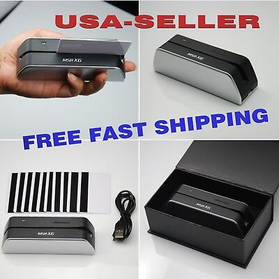 Msrx6 Smallest Usb-powered Magnetic Stripe Writer Encoder - New Usa Shipping