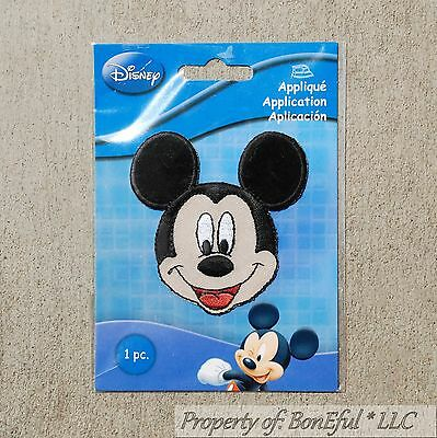 BonEful Boutique Disney Mickey Mouse Head Boy Sm Fabric Iron On Costume Applique - Mickey Mouse Club Costumes